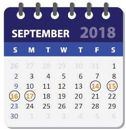 Calendar of Key Dates